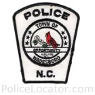 Wadesboro Police Department Patch