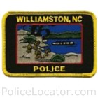 Williamston Police Department Patch