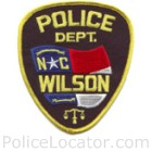 Wilson Police Department Patch