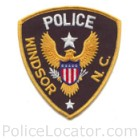 Windsor Police Department Patch