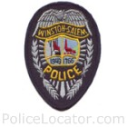 Winston Salem Police Department Patch