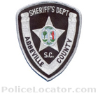 Abbeville County Sheriff's Office Patch