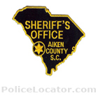 Aiken County Sheriff's Office Patch