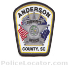 Anderson County Sheriff's Office Patch