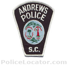 Andrews Police Department Patch