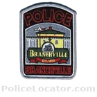 Branchville Police Department Patch