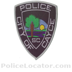 Cayce Police Department Patch
