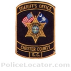 Chester County Sheriff's Office Patch