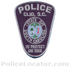 Clio Police Department Patch