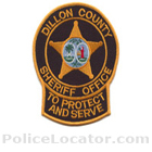 Dillon County Sheriff's Office Patch