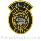 Estill Police Department Patch