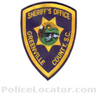 Greenville County Sheriff's Office Patch