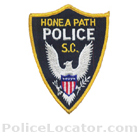 Honea Path Police Department Patch
