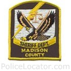 Madison County Sheriff's Department Patch