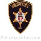 Lancaster County Sheriff's Office Patch