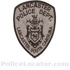 Lancaster Police Department Patch