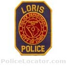 Loris Police Department Patch