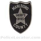 Marlboro County Sheriff's Office Patch