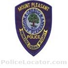 Mount Pleasant Police Department Patch