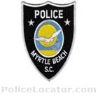 Myrtle Beach Police Department Patch