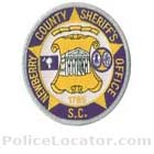 Newberry County Sheriff's Office Patch