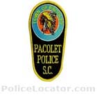 Pacolet Police Department Patch