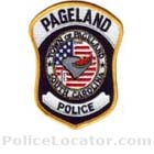 Pageland Police Department Patch