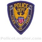 Perry Police Department Patch