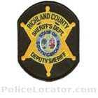 Richland County Sheriff's Office Patch