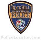 Rock Hill Police Department Patch
