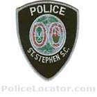 St. Stephen Police Department Patch