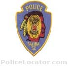Saluda Police Department Patch