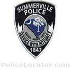 Summerville Police Department Patch