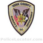 York County Sheriff's Office Patch