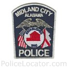 Midland City Police Department Patch
