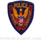 Athens Police Department Patch