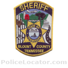 Blount County Sheriff's Office Patch