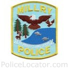Millry Police Department Patch