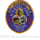 Cleveland Police Department Patch