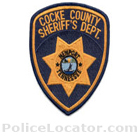 Cocke County Sheriff's Office Patch