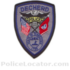 Decherd Police Department Patch