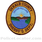 DeKalb County Sheriff's Office Patch