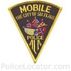 Mobile Police Department Patch