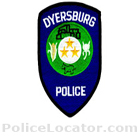 Dyersburg Police Department Patch