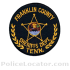 Franklin County Sheriff's Office Patch