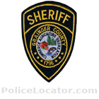 Grainger County Sheriff's Office Patch