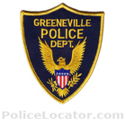 Greeneville Police Department Patch