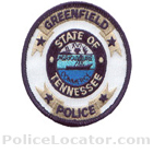Greenfield Police Department Patch