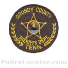 Grundy County Sheriff's Office Patch