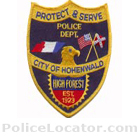 Hohenwald Police Department Patch